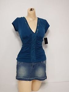 women-shirts-small-heart-soul-casual-all-purpose-comfortable-fit-v-neck-line
