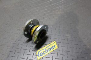 Willbrandt-Gummi-Kompensator-ERV-DN-50-PN-16-gelb-VSD-compensator-NEU-New