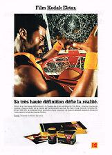 PUBLICITE ADVERTISING 074  1992  KODAK   film EKTAR 100