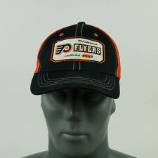 Philadelphia Flyers Black/Orange Trucker Snapback Mesh Cap Hat Zephyr