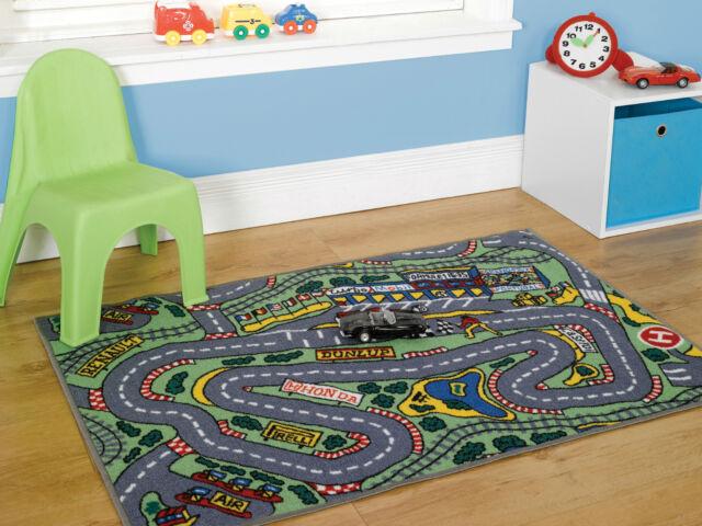Children/'s Disney Play Mat Race Cars 2 Room Decoration Non-Slip Backing 80x120cm
