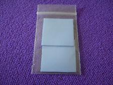 (2 piezas) cuadrado de 30 X 30mm 3cm 1mm 0.1cm de espesor Azul TERMOPEGADO Almohadilla del disipador de calor