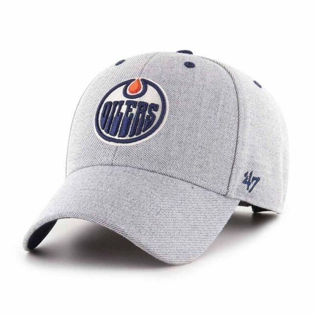 Edmonton Oilers Cap NHL Eishockey 47Brand Kappe Klettverschluß Verstellbar