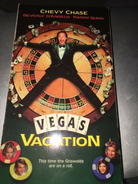 Vegas Vacation Vhs: VEGAS VACATION Starring CHEVY CHASE, BEVERLY D