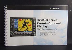 Details about Garmin 400/500 Series Garmin Optional Display Pilot's Guide  P/N 190-00140-13