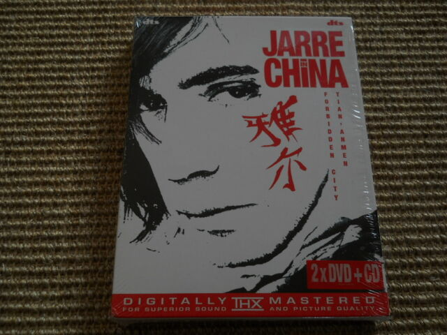 Jean Michel Jarre Jarre in China 2 x DVD + CD - Neuwertig