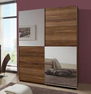 sliding door bedroom furniture. image is loading qmaxslidingdoorwardroberegalrangewalnutgerman sliding door bedroom furniture e