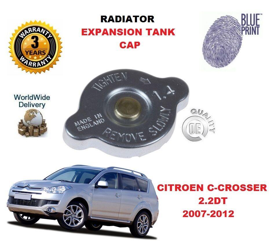Für Citroen C Crosser 2.2 Dt 2007-2012 Kühler Erweiterungstank Kappe