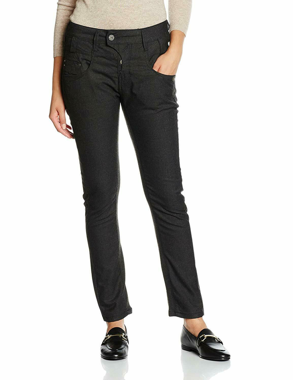 Gang BRAND Marge Deep Crotch Slim Fit Jeans 13436-150 grau 1079 Germany 26 inch-