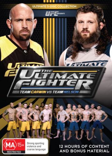1 of 1 - UFC - Ultimate Fighter -Team Carwin Vs Team Nelson Season 16 (DVD, 2013, 5-Disc