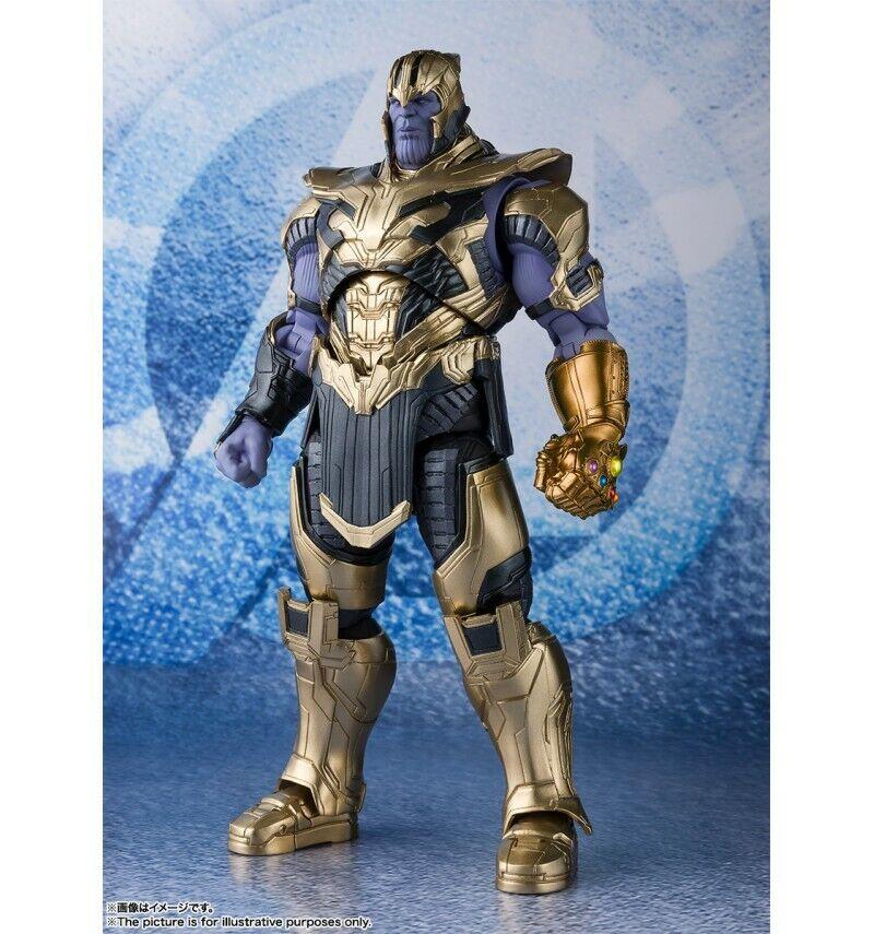 Bandai Marvel Avengers  EndJuego - SH Figuarts SHF - Thanos - 20cm