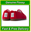 Genuine Red Flossy Shoes Size UK2.5 EU35 Canvas Plimsoll Espadrilles Flossys