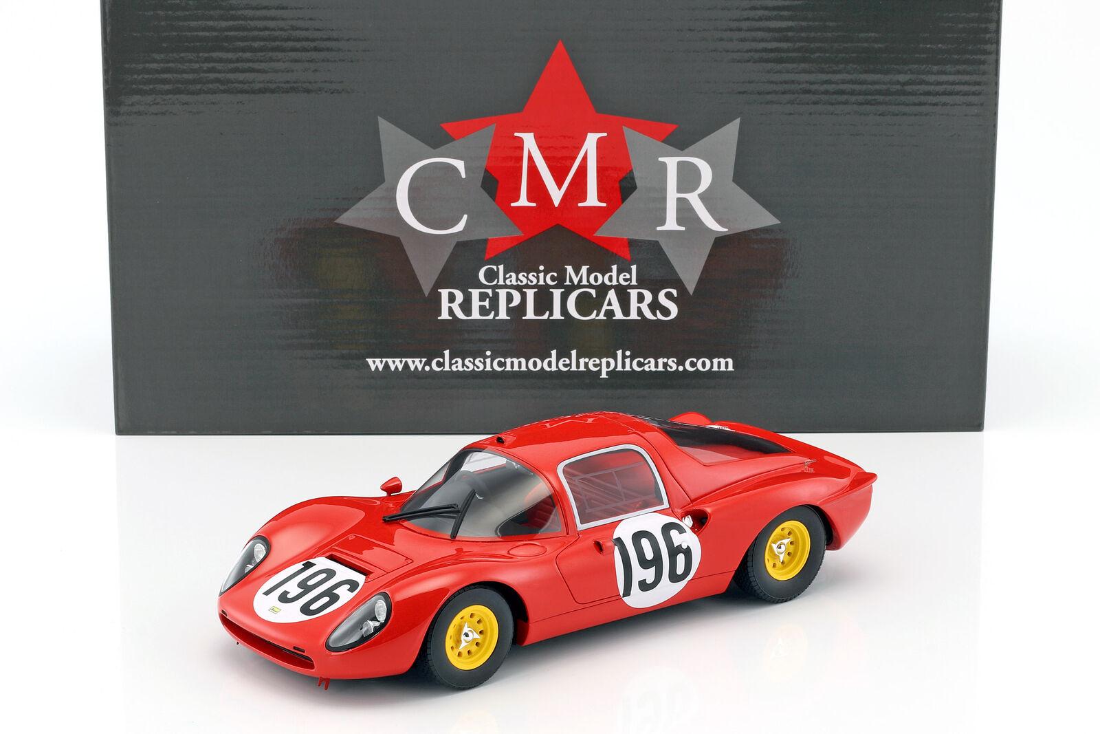 Ferrari Dino 206 S  196 2  Targa Florio 1966 Guichet, Borsahetti 1:18 Cmr