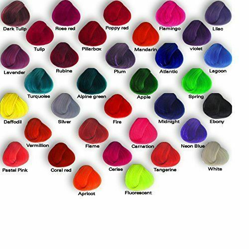 8 x La Riche Directions Semi-Permanent Hair Color 88ml Tubs - Choose Your Shades