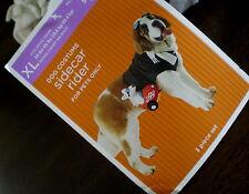 DOG Costume SIDECAR RIDER XL Motorcycle NEW Pet NWT BIKER
