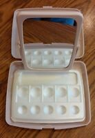 Mary Kay Retro Style Pink Compact Consultant Mirror Make-up Tray- Lot Of 2