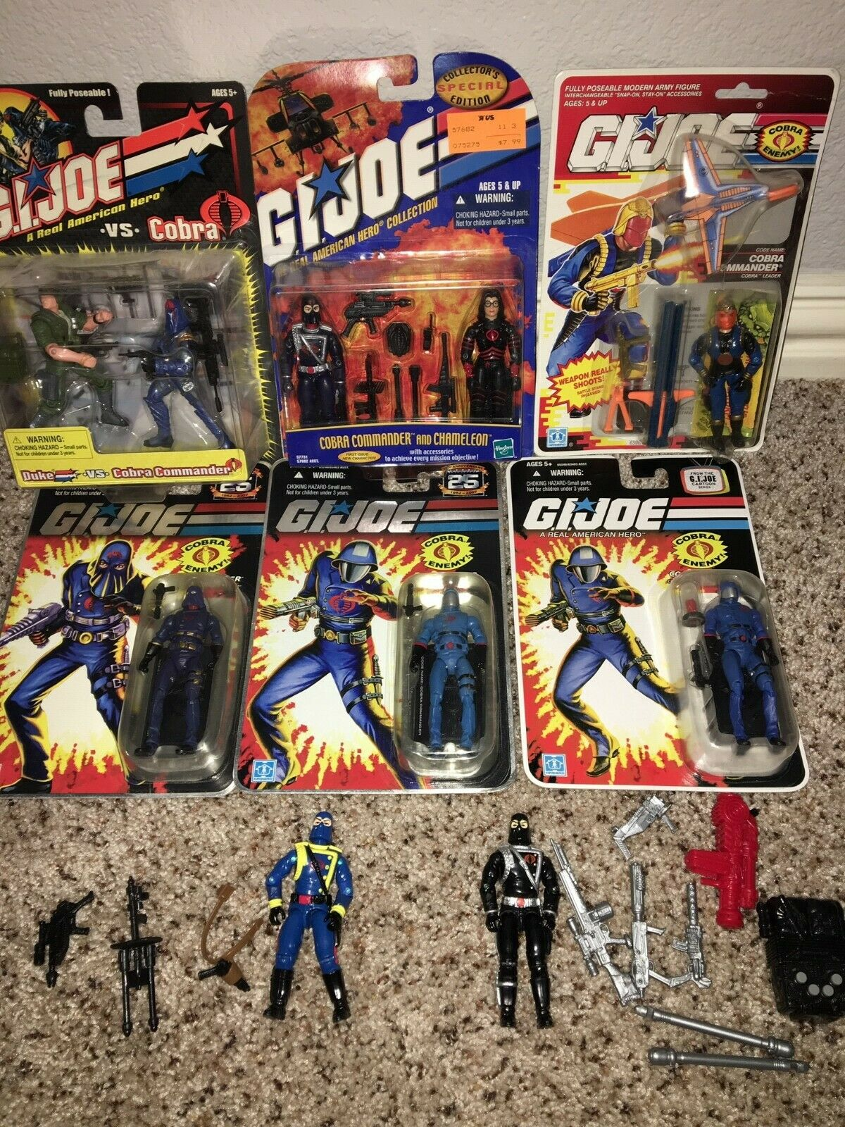 G.I. Joe Cobra Couomodante Lot