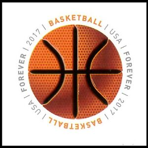 US-5208-Have-a-Ball-Basketball-forever-single-1-stamp-MNH-2017