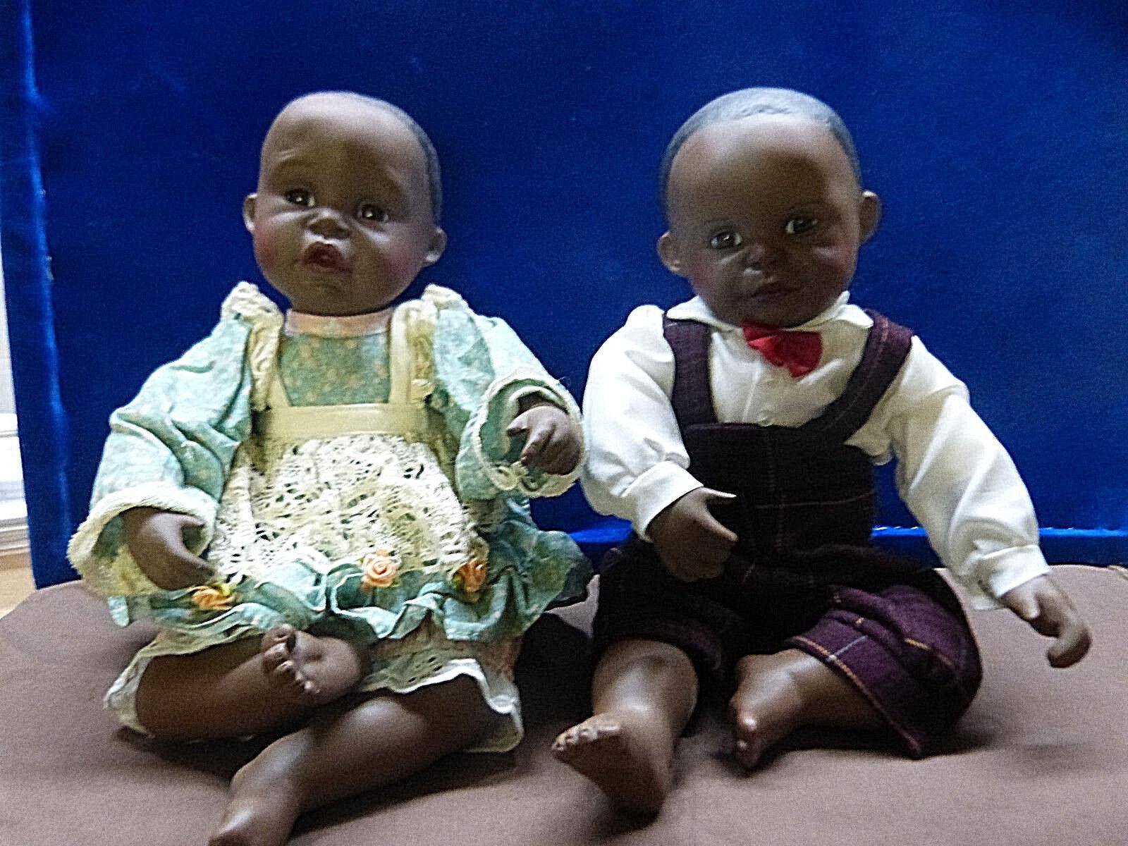 13053. 13053. 13053. Puppen Pärchen Puppenpaar dunkelhäutig Yolanda Bella 8bcda1