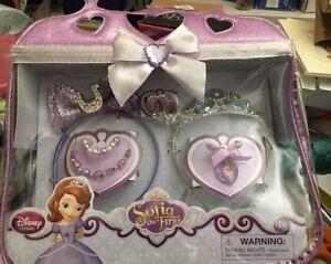Disney-Princess-Sofia-the-First-8-piece-Costume-Accessory-Set-NIP-Halloween