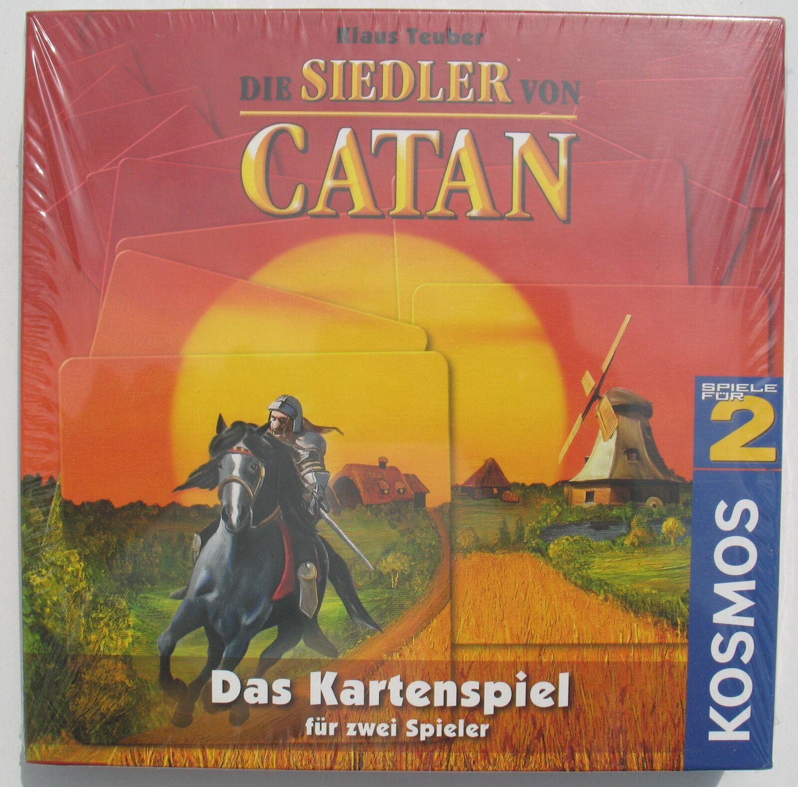 Siedler von catan - kosmos 685010 sterben - das kartenspiel - 2007 klaus teuber - neu