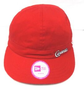 new styles 3d1c8 8ca72 St Louis Cardinals Women S New Era Adjustable Cap Hat 888714132329