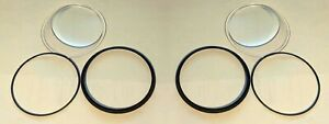 2-x-Avon-S10-Gas-Mask-Replacement-Lens-Clear-SP70007-Plano-Eye-Piece