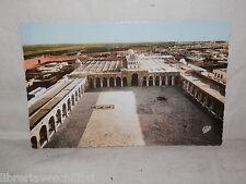 Vecchia cartolina foto d epoca di Kairouan cour de la Grande Mosquee veduta