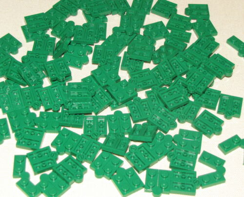 LEGO LOT OF 100 NEW GREEN HINGES SWIVEL PIECES PARTS