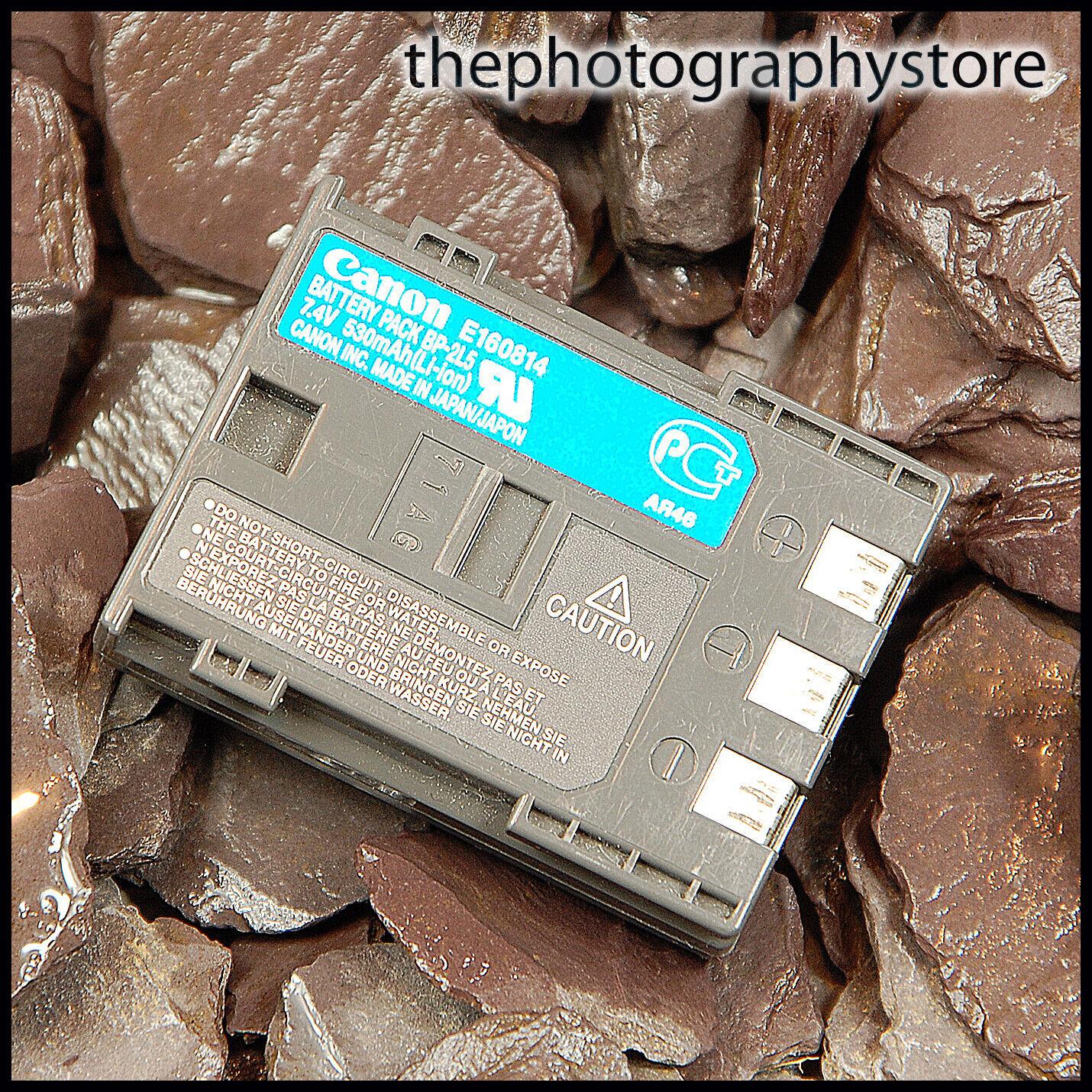 Genuine Canon OEM BP-2L5 Battery Pack fit EOS 350D 400D NB2LH DSLR