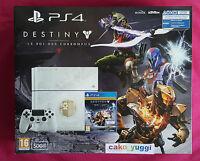 Console Ps4 Destiny Le Roi Des Corrompus 500 Go Limited Edition Neuve
