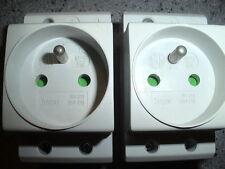 PRISE DE COURANT HAGER (OBTURATEUR) 16 AMPERES MODULAIRE POUR COFFRET ELECTRIQUE