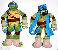 Leonardo Teenage Mutant Ninja Turtles Plush Backpack-Licensed by Nickelodeon-New