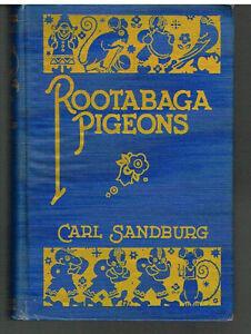 Rootabaga-Pigeons-by-Carl-Sandburg-SIGNED-1st-Ed-1923-Rare-Antique-Book