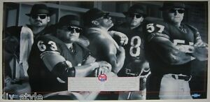 In-the-Trenches-1989-Classic-Chicago-Bears-Poster-mint-condition