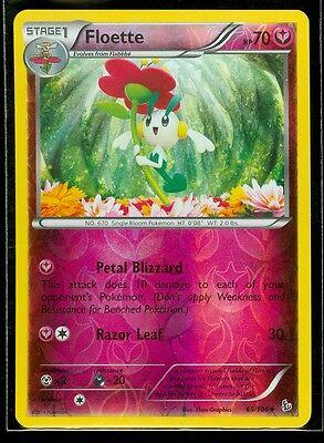 MINT Pokemon FLOETTE 65//106 XY Flashfire Rev Holo