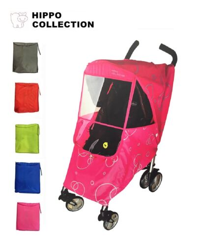 US Seller Hippo Collection Universal Stroller Weather Shield Rain Cover