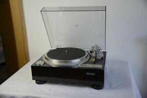 Denon-DP-59L-Plattenspieler-mit-Tonabnehmer-Denon-DL-103R-Turntable