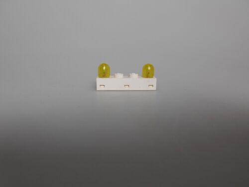 Lego ® Technic 9 V Accessoires 1x lumière Pierre 1x4 avec capuchon jaune 6481 et 6450