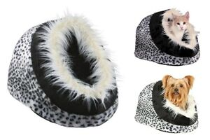 Trixie-Minou-Cat-Bed-Snow-Leopard-Igloo-Cave-Small-For-Cats-amp-Kittens