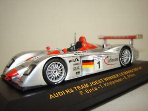 143 Mans Ixo Sur 2001 R8 Joest1 Détails Team Xlmm001 Winner Audi Le shxotCBdQr