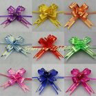 90pcs Pull Flower Ribbon Bow Gift Wrap 9 COLOR 12mm