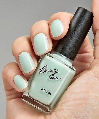 Beauty Queen Pastel Nail Polish BQ102 - Mint Green