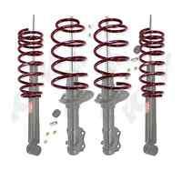 Kyb 4 Struts Shocks & Lowering Springs Mazda Cx7 Cx-7 - 07 08 09 10 11 12 958002