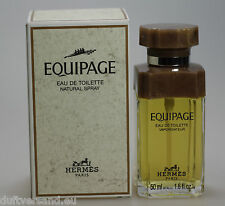 Hermes Equipage 50 ml Eau de Toilette Spray Neu / OVP * Vintage *