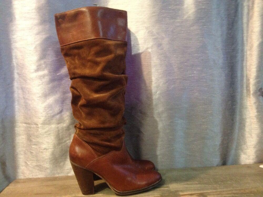 ZODIAC USA Panda Fashion Western Boots, Size 8.5 M