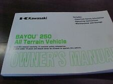 Kawasaki KLF 250A Owner's Manual