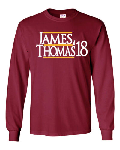 "Lebron James Isaiah Thomas Cleveland Cavaliers /""James 17/"" jersey T-shirt Shirt"