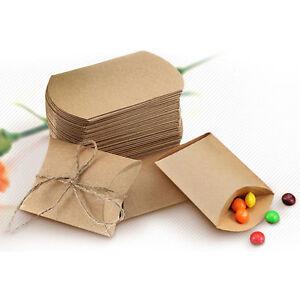 Wedding Cake Gift Boxes Uk : 50pcs-Wedding-Favor-Box-Cute-Kraft-Paper-Pillow-Party-Favour-Gift-Cake ...