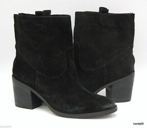 7f60a42309d0 Image is loading New-Sam-Edelman-FARRELL-Distressed-Suede-Leather-Ankle-
